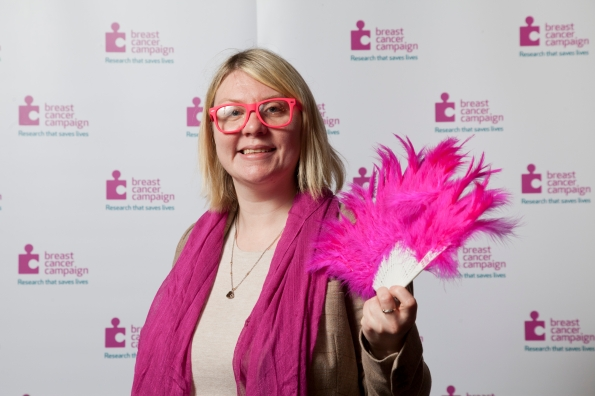 Siobhan McMahon MSP - Wear it Pink 2