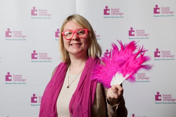 Siobhan McMahon MSP - Wear it Pink 2