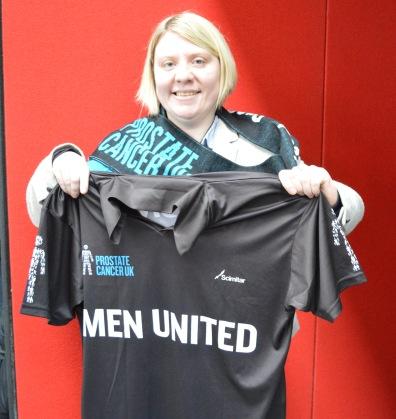 Siobhan McMahon MSP - Men Utd V Prostate Cancer picture